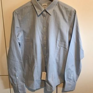 Brooks Brother Button Up Light Blue.